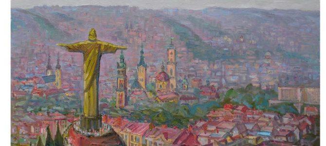 Львівський художник пропонує встановити Статую Христа Спасителя на Лисій горі