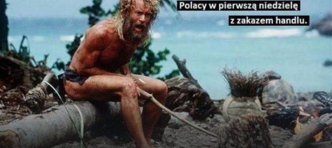 З гумором про першу неділю з забороною торгівлі у Польщі. Реакція соцмереж