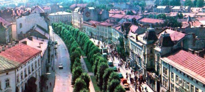 Метаморфози львівських вулиць. Алея проспекту Шевченка