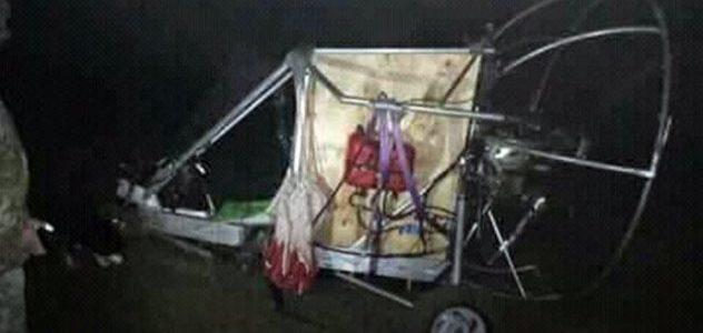 На Львівщині виявили саморобний вертоліт із контрабандними сигаретами (фото)