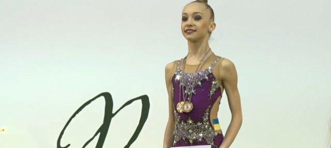Львів'янка Христина Погранична здобула два золота на змаганнях у Латвії (фото, відео)
