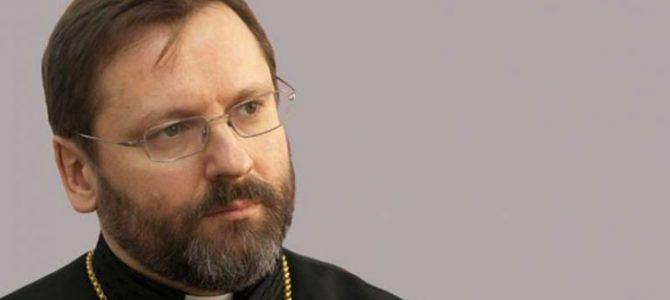 Глава УГКЦ за те, щоб усі християни святкували разом Різдво і Великдень