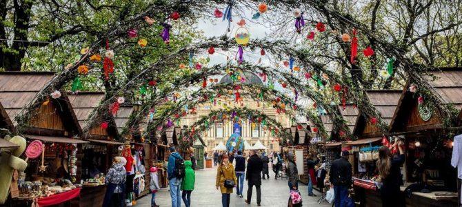 Від сьогодні у Львові працює Великодній ярмарок