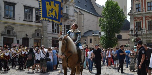 Львів святкує 762 день народження: центром міста пройшов традиційний святковий парад