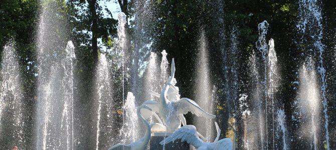 У Стрийському парку запрацював фонтан (фото, відео)