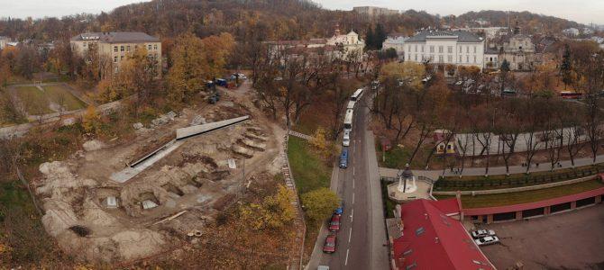 На місці спорудження Меморіалу Небесної Сотні у Львові знайшли перепоховання