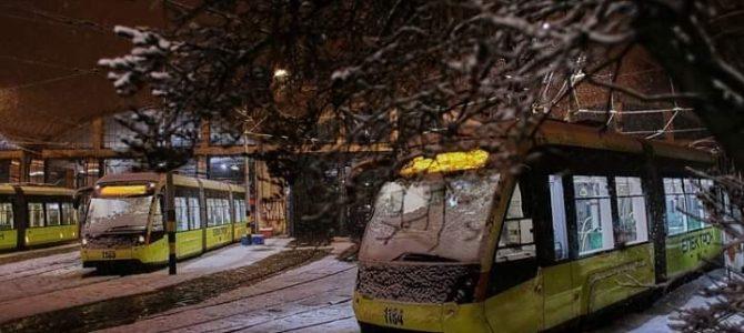 Графік руху львівських трамваїв у новорічну ніч