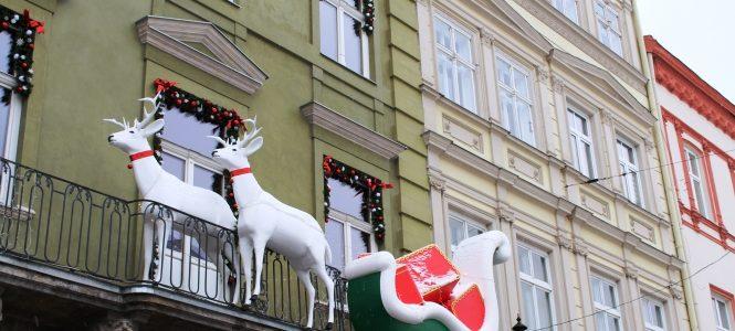 Як прикрашають Львів до різдвяних свят. Атмосферні фото