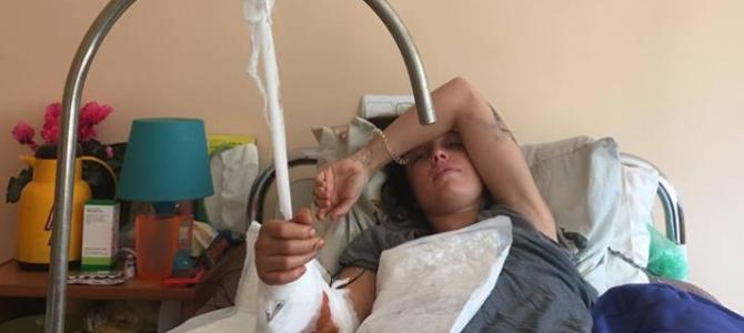 Львів'ян просять допомогти постраждалій від нападу ведмедя