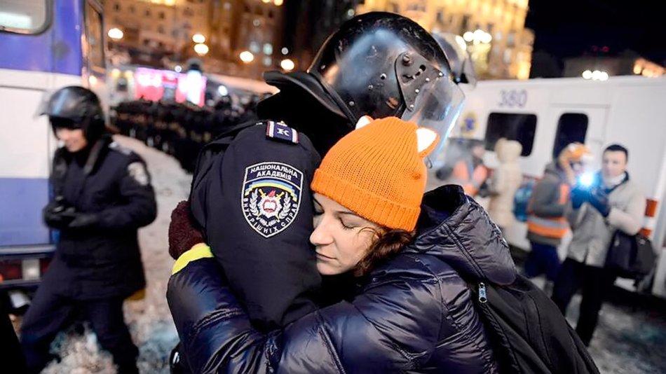 12 грудня, трохи доброти. Фото зі сторінки спільноти euronews.fans, Facebook