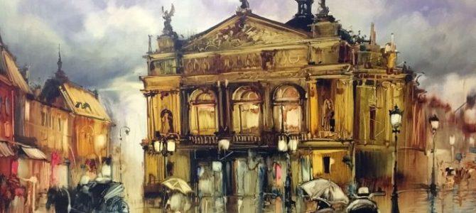 Старий Львів на картинах сучасного львівського художника