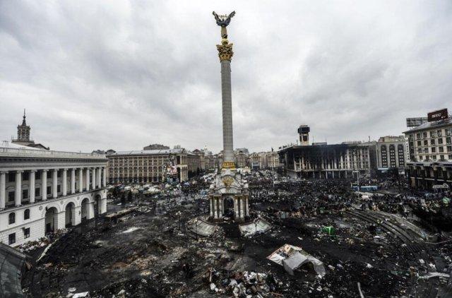 20 лютого, головна площа країни. Фото AP Photo | Efrem Lukatsky