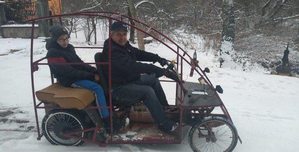 Львів'янин власноруч сконструював електромобіль