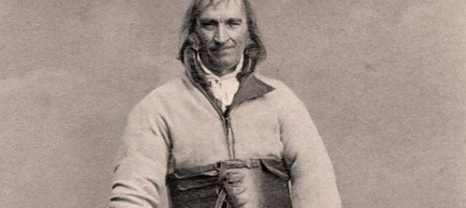 На найстарішому фото Польщі мешканець Самбора