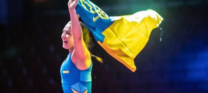 Українка виграла молодіжний ЧЄ з боротьби, здолавши в півфіналі росіянку