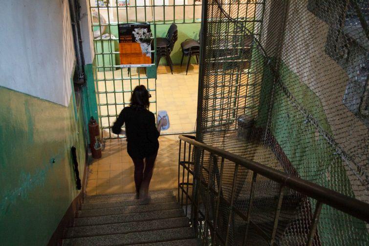 """Кабінет Іри в """"Тюрмі на Лонцького"""" розташований у колишньому медпункті"""