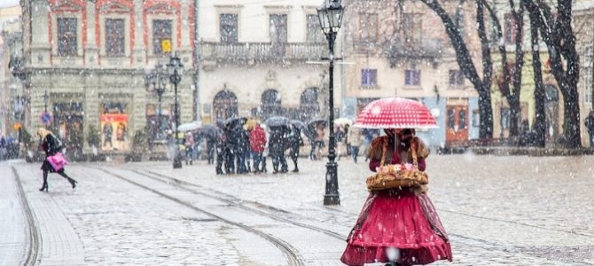 Завтра у Львові прогнозують сніг