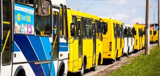 У Львові їздять нелегальні маршрутки