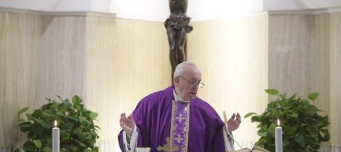 Папа: слухати голос Бога, аби уникати закам'янілості серця