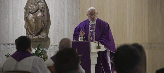 Папа: Великий Піст як час боротьби з лицемірством