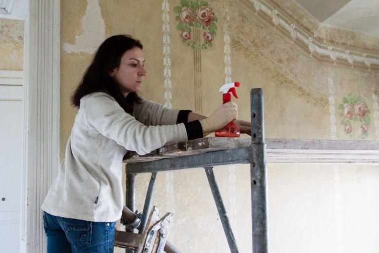 На щастя, ремонти робили один, максимум два рази за усю столітню історію будинку