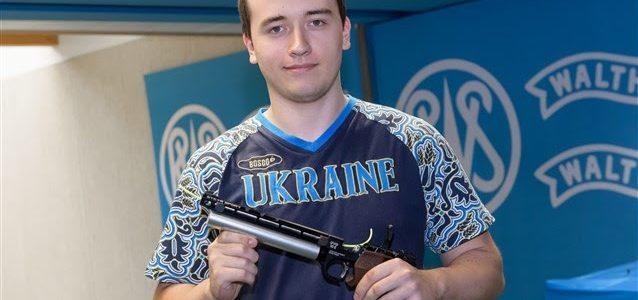 Львів'янин став чемпіоном Європи у стрільбі з пневматичного пістолета