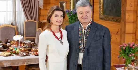 Порошенко з дружиною привітали українців з Великоднем (відео)