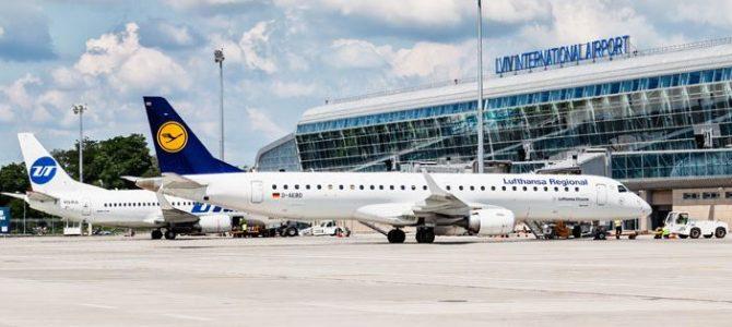 Аеропорт Львова увійшов у трійку найбільших в Україні за кількістю пасажирів