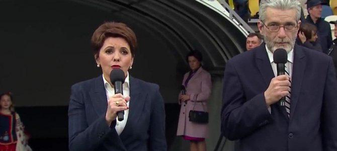 """""""Ми вибираємо Україну"""": телеведуча Олена Фроляк розчулилася до сліз на дебатах (відео)"""