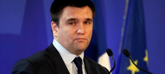 Клімкін подав у відставку (відео)