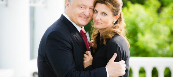 Користувачів мережі розчулило фото Порошенка з дружиною