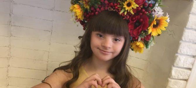 13-річна українка з синдромом Дауна перемогла на міжнародному конкурсі краси