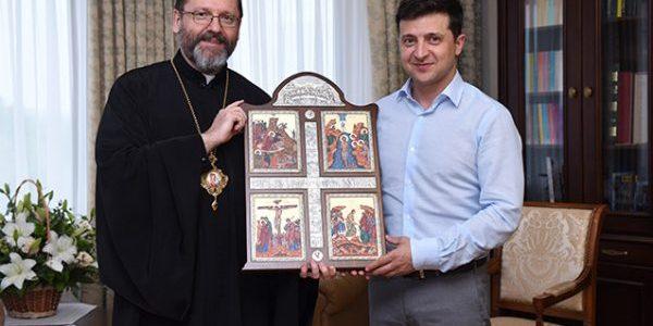 Глава УГКЦ запросив Зеленського до Львова