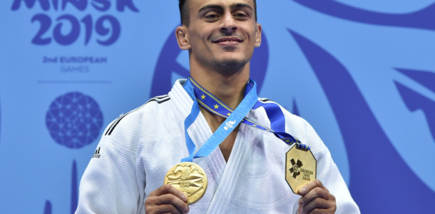 Українець Георгій Зантарая став чемпіоном Європейських ігор-2019
