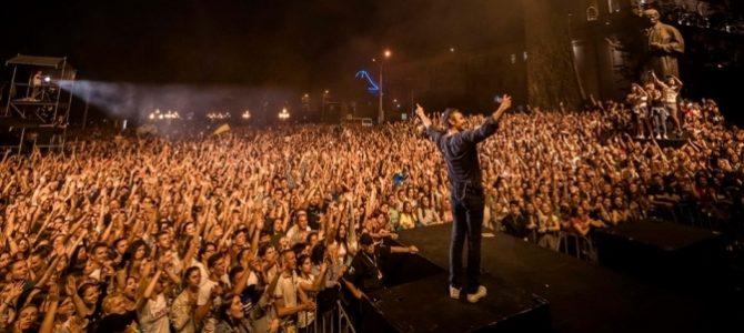 Концерт «Океану Ельзи» зібрав понад 10 тисяч глядачів у центрі Львова (відео)