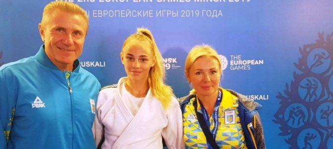 """Дзюдоїстка Білодід принесла Україні перше """"золото"""" Євроігор-2019"""