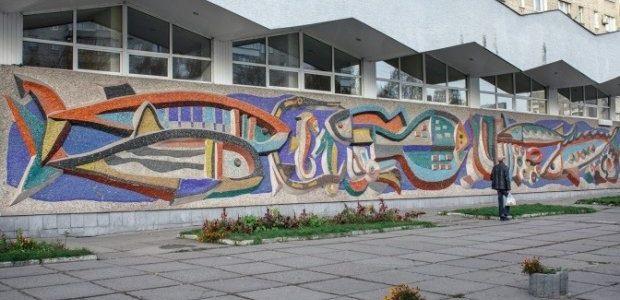 У Львові під час реконструкції магазину знищили відому мозаїку (фото)