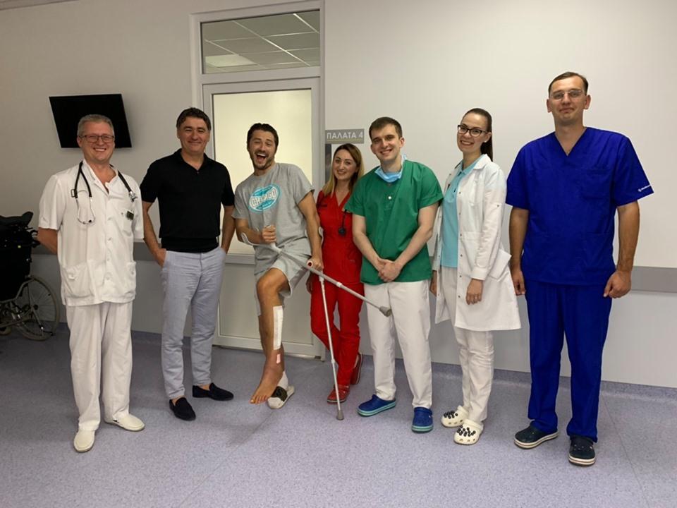 """""""Щиро дякую за відремонтовану кінцівку!"""", - Сергій Притула про лікування у тернопільській обласній лікарні"""