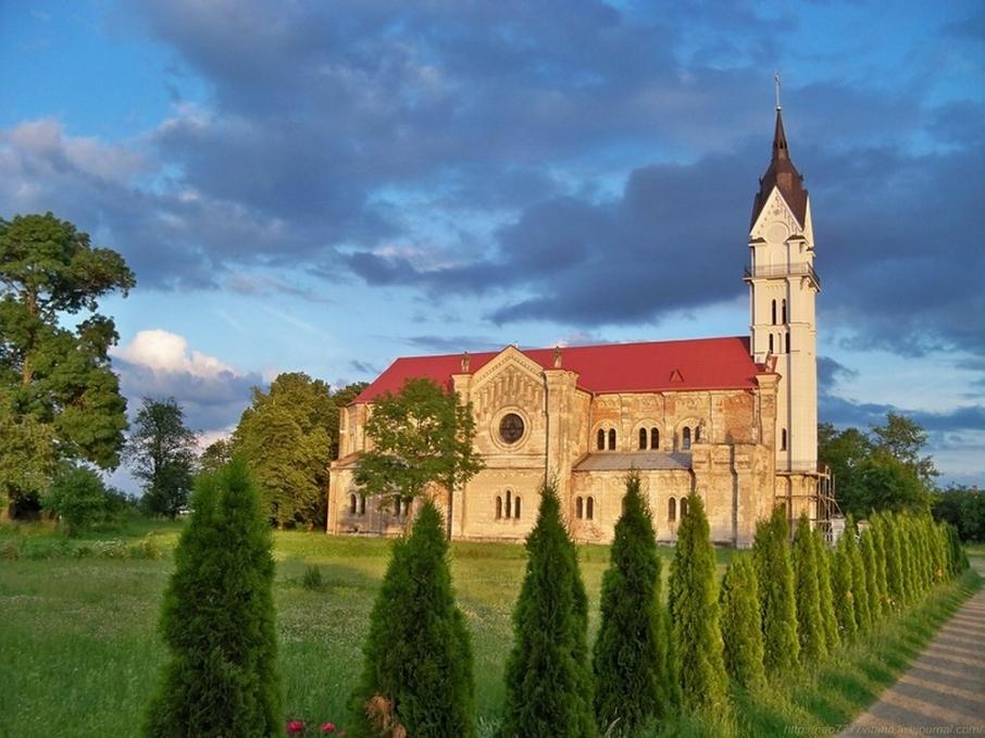 Монастир святого Герарда в Кохавино на Жидачівщині. Фото: livejournal.com