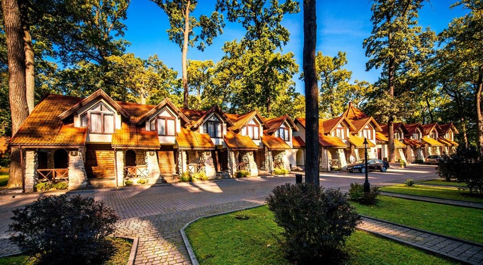 Бази відпочинку поблизу Львова: Древній Град