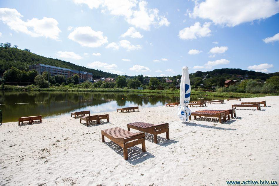 Бази відпочинку поблизу Львова: Озеро
