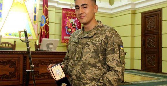 Львівський курсант отримав британський «Меч кращого закордонного випускника»