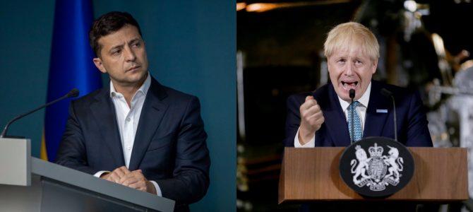 Зеленський поговорив телефоном з прем'єром Британії Джонсоном щодо повернення РФ до G8