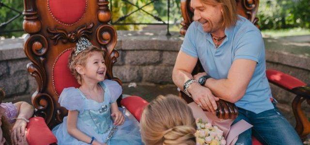 Винник здійснив мрію 5-річної онкохворої дівчинки (фото)