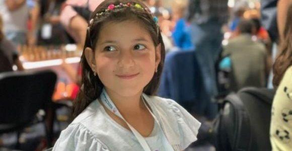 Дев'ятирічна львів'янка стала віце-чемпіонкою Європи зі шахів серед дівчат