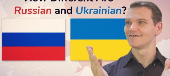 Популярний англомовний блогер пояснив на відео різницю між українською та російською мовами