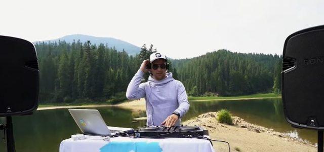 Розхитав Карпати: Dj Sky записав мікс серед озера Синевир (відео)
