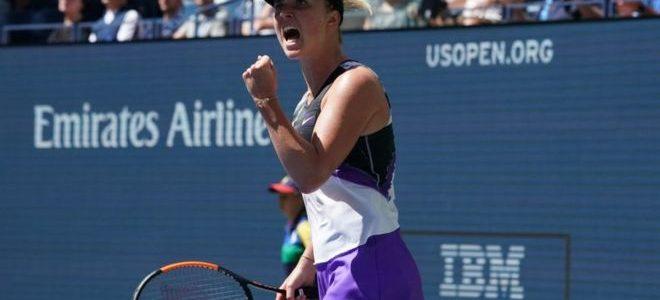 Еліна Світоліна вперше вийшла до півфіналу US Open