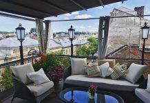 11 ресторанів з терасами, з яких видно дахи старого Львова