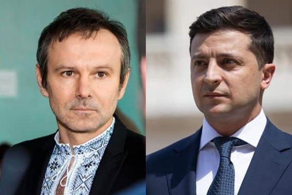 Святослав Вакарчук і Володимир Зеленський